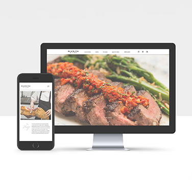 Black Pig Bistro - Website