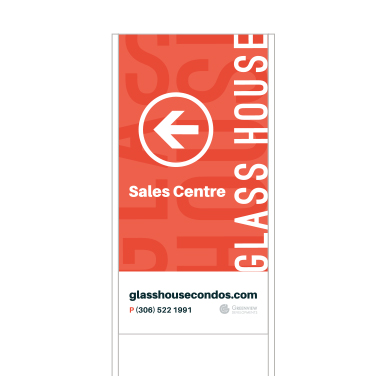 Glass House - Signage