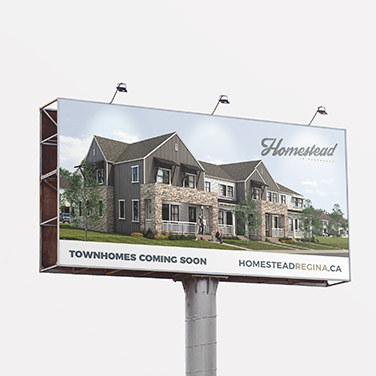 Homestead - Billboard
