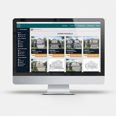 Park Royal Homes - Website