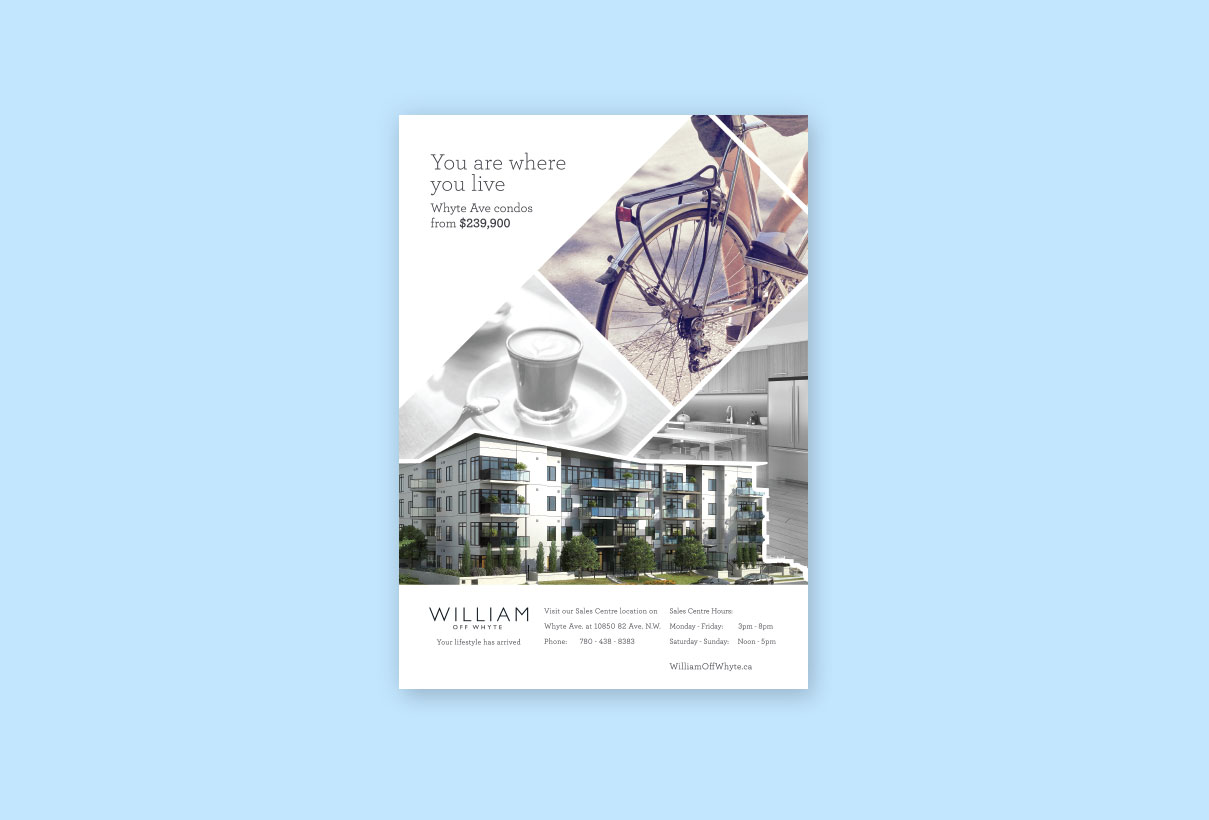 William Print Ad